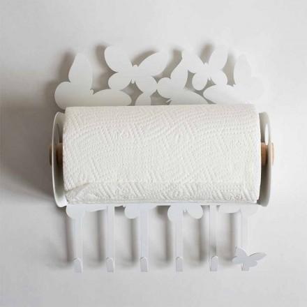 Suport de hârtie de design din fierul prețios fabricat în Italia - Leiden