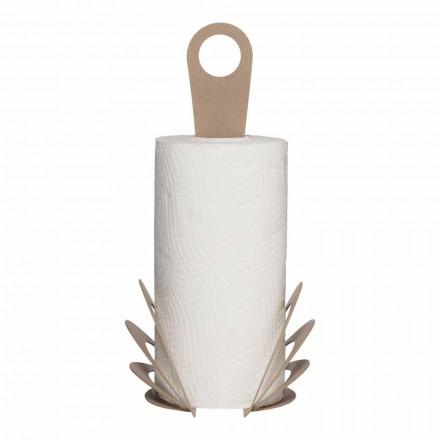 Suport de prosoape de bucătărie manual din fier, fabricat în Italia - Futti