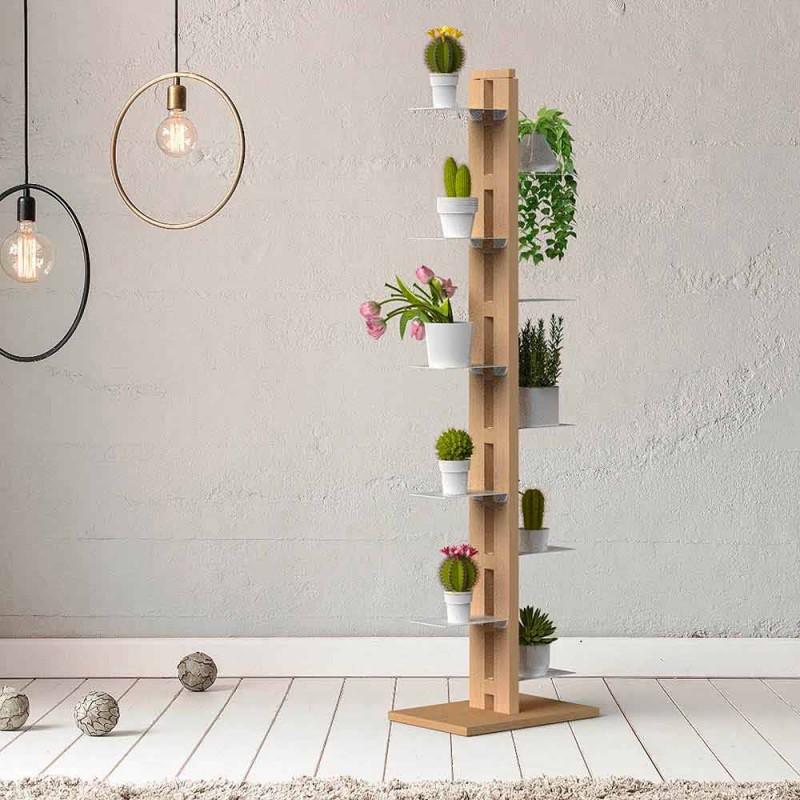 Zia Flora suport vertical modern pentru coloane verticale din Italia