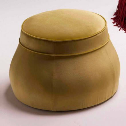Pouf camera de zi capitonat de lux design clasic italian Simon