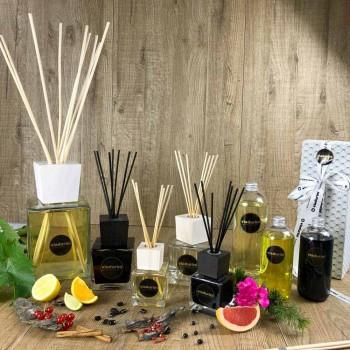 Parfum de acasă Bumbac și cânepă 2,5 Lt cu bețe - Acquadipositano