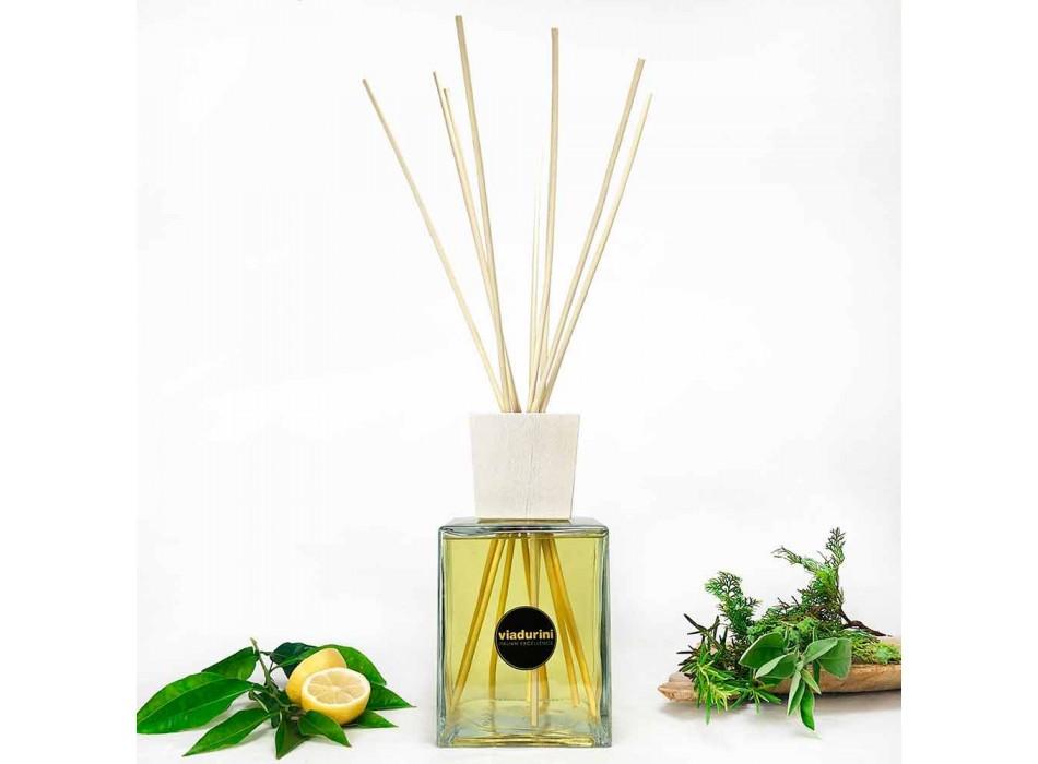 Odorizant de ambianță pentru parfum de bergamotă 2,5 Lt cu bastoane - Ladolcesicilia