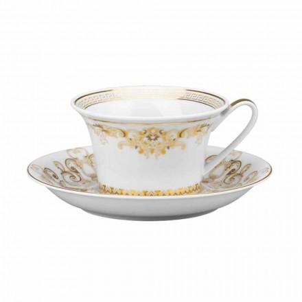 Rosenthal Versace Medusa Gala de ceașcă de ceai de design de porțelan