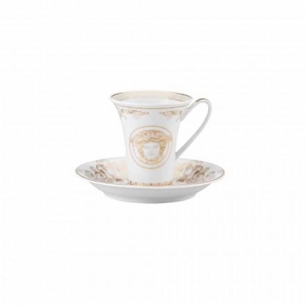 Rosenthal Versace Medusa Gala Cupa Porțelan de cafea de design