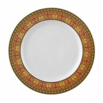 Rosenthal Versace Medusa Red plate 22 cm porțelan