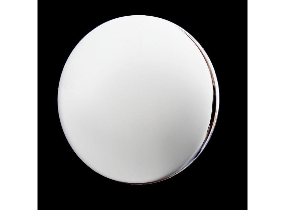 Robinet de baie din alamă cu 3 găuri și design vintage, fabricat în Italia - Ursula
