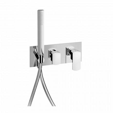 Robinet de duș design cu deviator cu 3 căi Fabricat în Italia - Sika