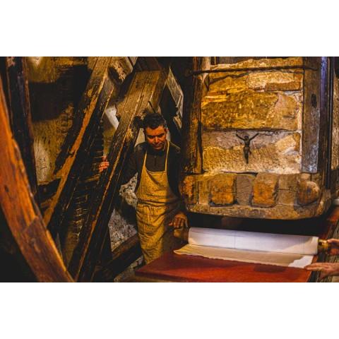 Piesă de cânepă pictată manual artă italiană piesă unică - mărci