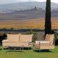 Lounge Artisan Garden cu structură de fier Made in Italy - Lisotto