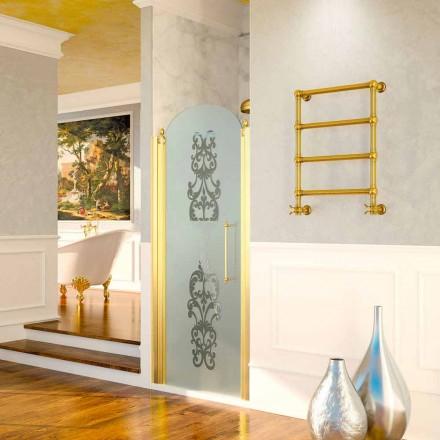 Prosoape electrice de încălzire Scirocco H Caterina aur în alamă, design