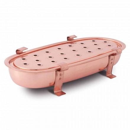 Veselă de masă pentru oale de cupru Fabricată în Italia 45x23 cm - Mariaelena