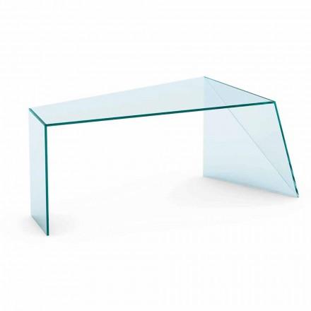 Birou de design modern Sticlă extralight fabricată în Italia - Rosalia