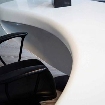 Birou de birou modern de design Boomerang fabricat în Italia