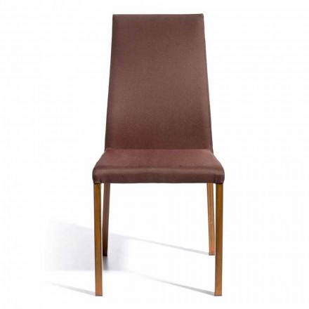 Design scaun acoperit în țesătură Amalia, H96 cm, fabricate în Italia