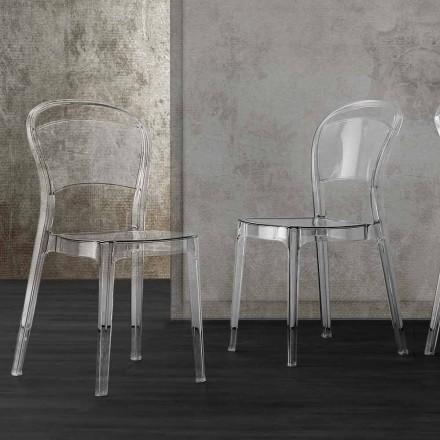 Scaun de design modern din policarbonat - Yanis