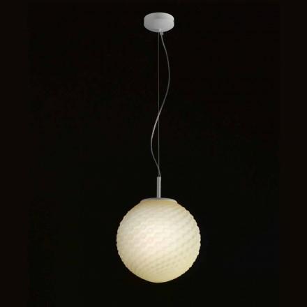 Selene Domino candelabru suflat sticlă manual Ø27 H 27 / 140cm