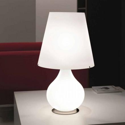 Selene lampă totdeauna masă de sticlă suflată Ø41 H 72cm