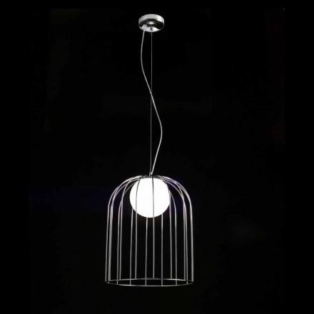 Selene Kluvì pandantiv lampa suflat O33 H sticlă 41/150 cm