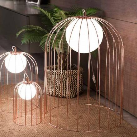 Selene Kluvì de masă lampă de proiectare în suflat sticlă Ø54 H 70cm
