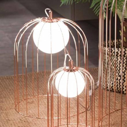 lampă de masă Selene Kluvì Contemporană din sticlă suflată O33 H41cm