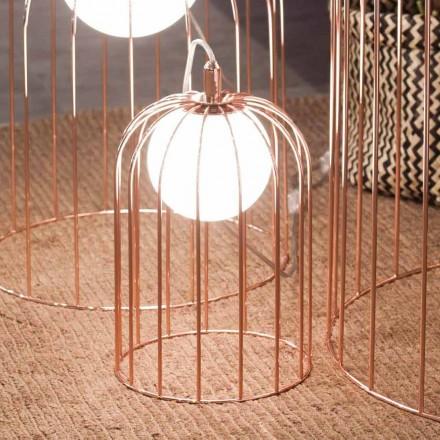 Selene Kluvì lumetto suflat sticlă și metal O19 H 27cm