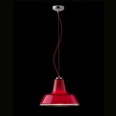 Selene Lampara lampă de suspensie suflat Ø37 H sticlă 24/140 cm