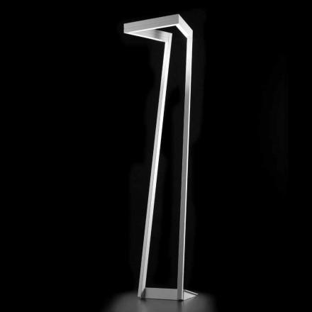 Selene My Way LED alb, lampa de podea H180cm 40x40, realizate în Italia