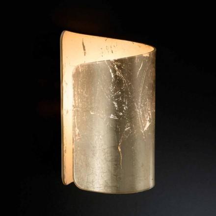 Selene Papiro appliqué cristal de design modern, realizat în Italia