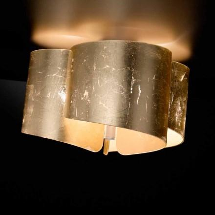 Selene Papiro cristal lampă de plafon realizat în Italia Ø46 H28cm
