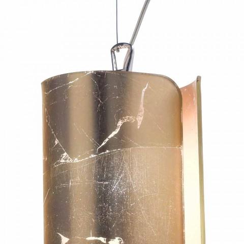 Selene Papyrus modernă lampă de cristal pandantiv Ø15 H 125cm
