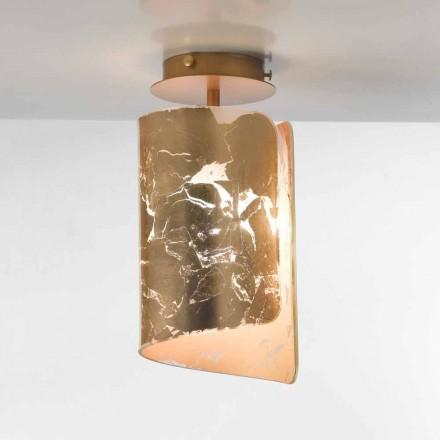 Selene Papiro plafon lampă de cristal Ø15 H30cm, realizate în Italia