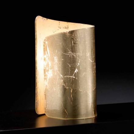 Selene Papiro cristal lampă de masă făcută în Italia 15x14xH25cm