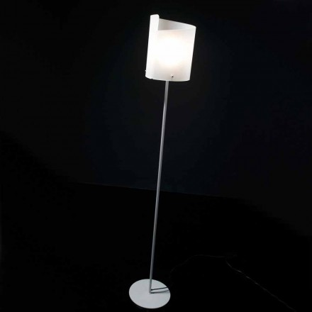 Selene Papiro lampa de podea de designer H185cm cristal Ø26