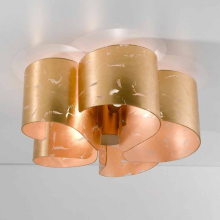 Selene Papiro lumina plafon de cristal moderne Ø65 H28cm, realizate în Italia