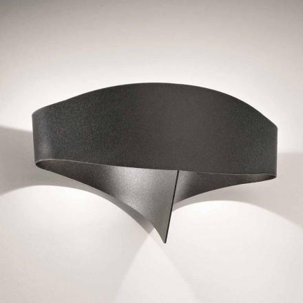 Selene Shield Appliqué oțel vopsit cu design modern