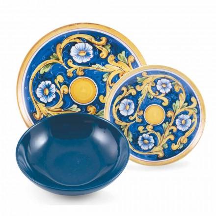 Set complet de produse de masă colorate și moderne de masă 18 piese - Cefalu