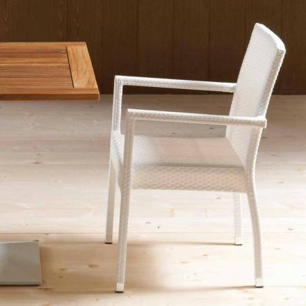 4 septembrie scaune moderne din grădina Portorotondo