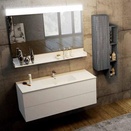 Compoziția modernă a mobilierului de baie suspendat fabricat în Italia, Bari