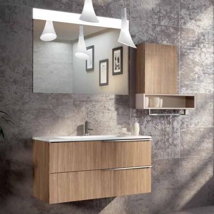 Compoziție de baie design suspendată în ecolegno din Italia, Cesena