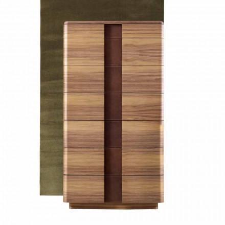 Grilli York din lemn masiv modern din Italia