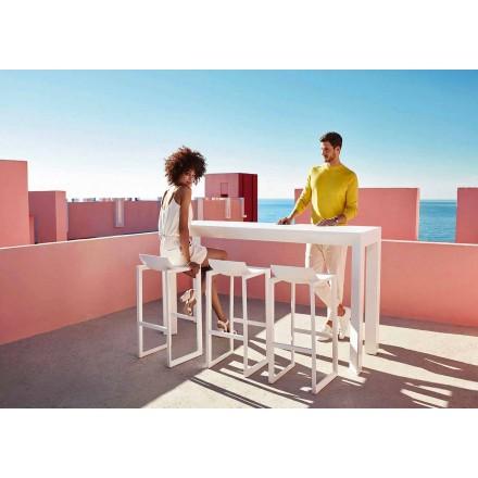 Wallstreet scaun în aer liber de Vondom, din polipropilenă cu fibră de sticlă, 2 piese
