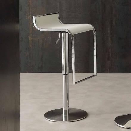 Scaun cu design modern, acoperit în piele ecologică - Arbore