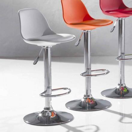 Scaun cu design modern din polipropilenă și ridicabil - Rosa