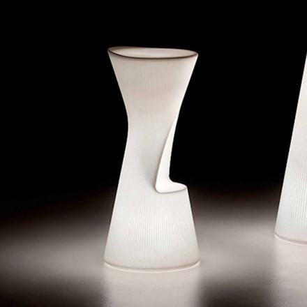 Scaun luminos de exterior din polietilenă cu LED Made in Italy - Desmond