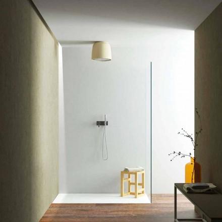 Plafon de duș rotund, montat pe plafon, în Luxolid din Italia, Ruda