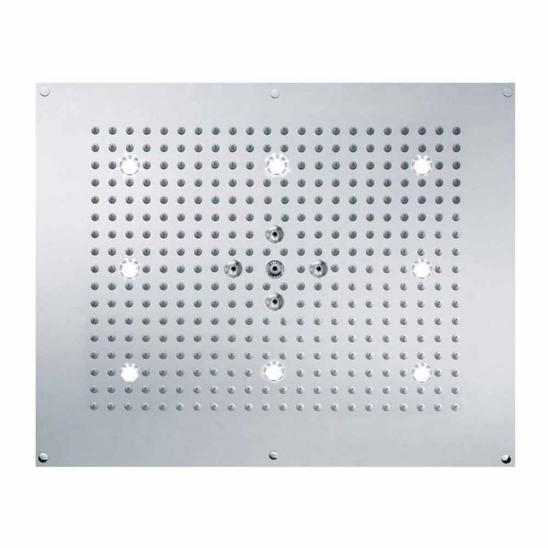 cap de duș de tavan cu LED două jeturi Bossini vis Neb