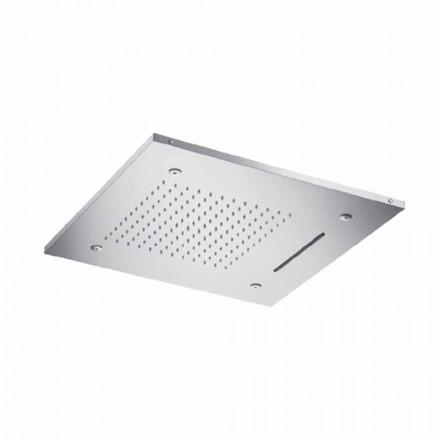 Cap de duș din tavan din oțel inoxidabil cu 3 jeturi Made in Italy - Frido