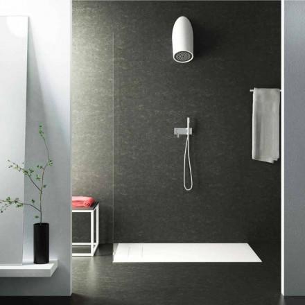 Modernul cap de duș de perete în Luxolid a făcut 100% în Italia, Rubano