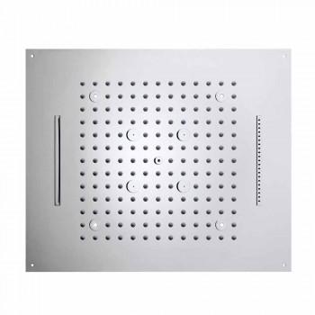 cabină de duș deasupra capului modern, cu patru funcții LED lumini de vis