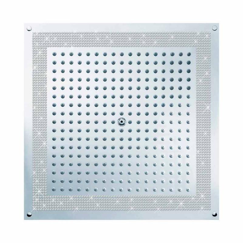 cap de duș cu inserții din Swarovski Cube Bossini